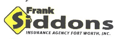 Frank Siddons Ins. Agency-Ft. Worth